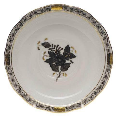 Herend Chinese Bouquet Black Tea Saucer $55.00