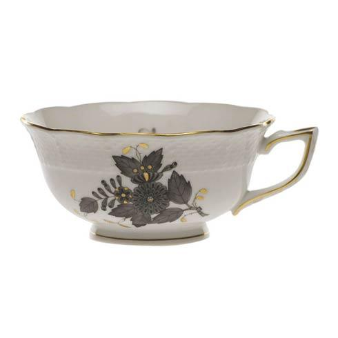 Herend Chinese Bouquet Black Tea Cup $100.00