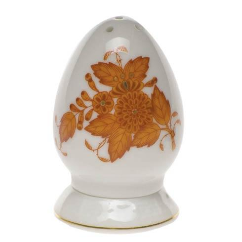 Herend  Chinese Bouquet Rust Salt Shaker Multi Hole $75.00