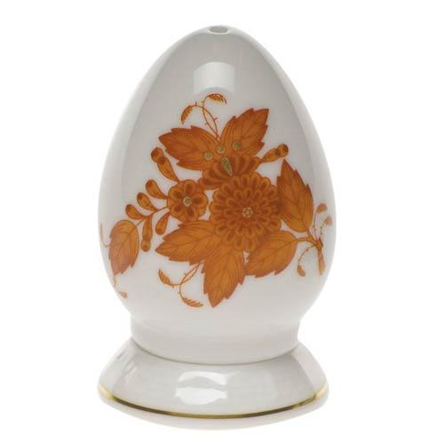 Herend  Chinese Bouquet Rust Pepper Shaker Single Hole $75.00