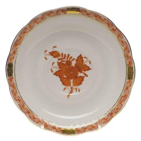 Herend Chinese Bouquet Rust Tea Saucer $55.00