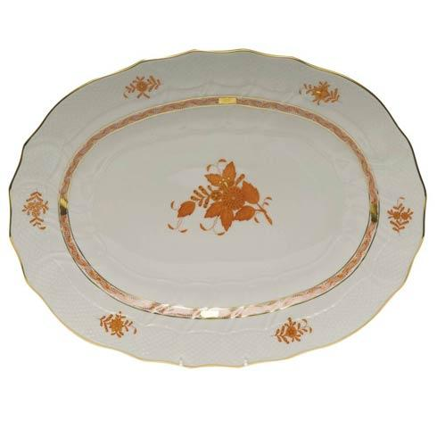 Herend Chinese Bouquet Rust Platter $550.00