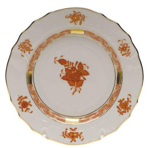 Herend Chinese Bouquet Rust Bread & Butter Plate $80.00