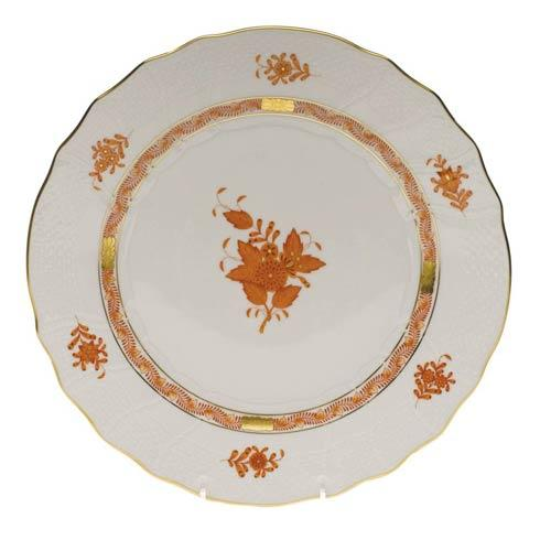 Herend Chinese Bouquet Rust Dinner Plate $145.00