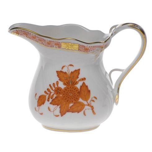 Herend  Chinese Bouquet Rust Creamer $135.00