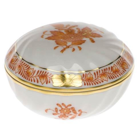 Herend Chinese Bouquet Rust Ring Box $75.00