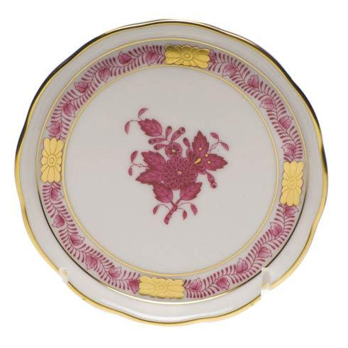 Herend  Chinese Bouquet Raspberry Coaster $45.00