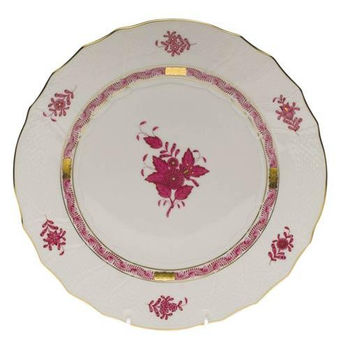 Herend Collections Chinese Bouquet Raspberry Dinner Plate $145.00