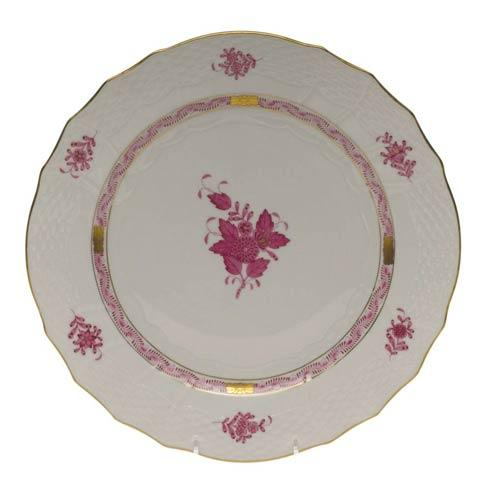 Herend Collections Chinese Bouquet Raspberry Service Plate $175.00