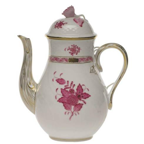 $415.00 Coffee Pot W/Rose