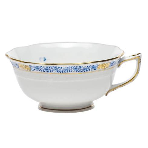 Herend  Chinese Bouquet Garland Blue Tea Cup $90.00