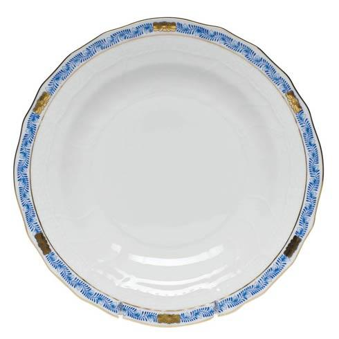 Herend  Chinese Bouquet Garland Blue Dessert Plate $95.00