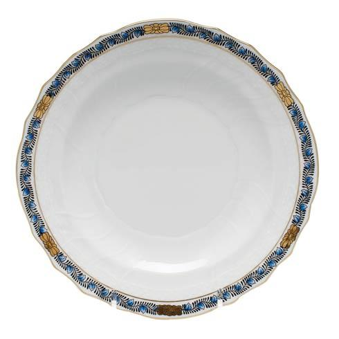 Herend  Chinese Bouquet Garland Black Sapphire Salad Plate $85.00