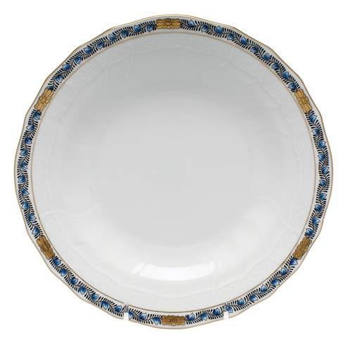 Herend Chinese Bouquet Garland Black Sapphire Dessert Plate $95.00