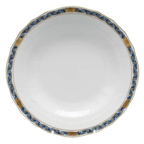 Herend Collections Chinese Bouquet Garland Black Sapphire Dessert Plate $95.00