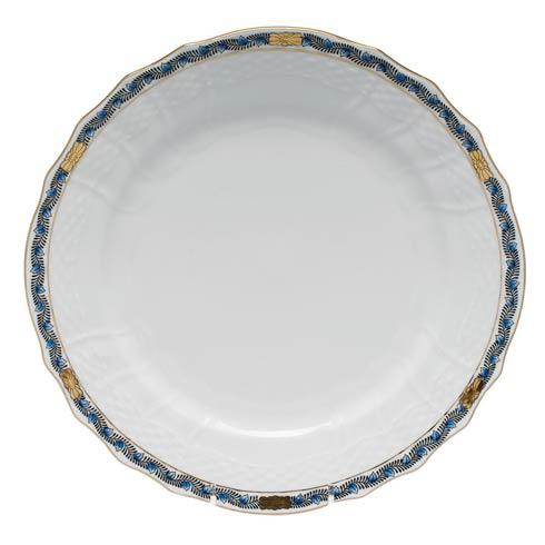 Herend Chinese Bouquet Garland Black Sapphire Service Plate $140.00
