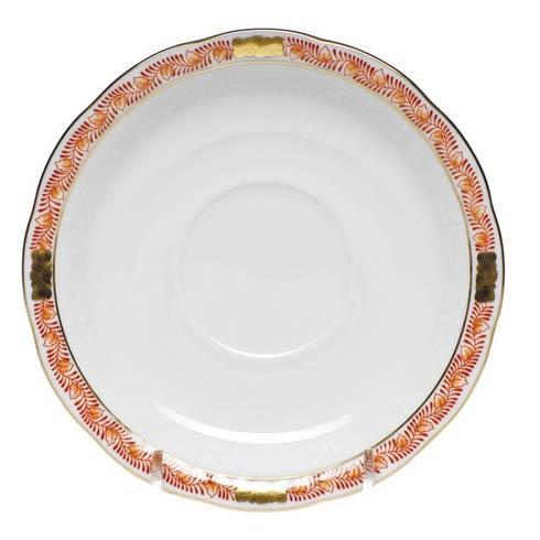 Herend Chinese Bouquet Garland Rust Tea Saucer $45.00