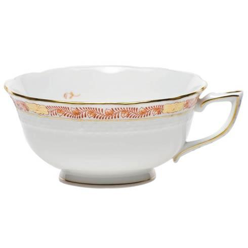 Herend Chinese Bouquet Garland Rust Tea Cup $90.00