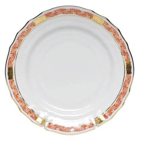 Herend Chinese Bouquet Garland Rust Bread & Butter Plate $75.00