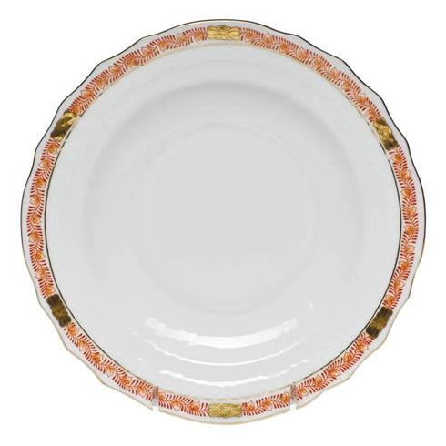 Herend Chinese Bouquet Garland Rust Salad Plate $85.00