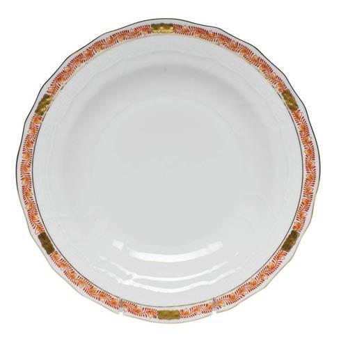 Herend Collections Chinese Bouquet Garland Rust Dessert Plate $95.00