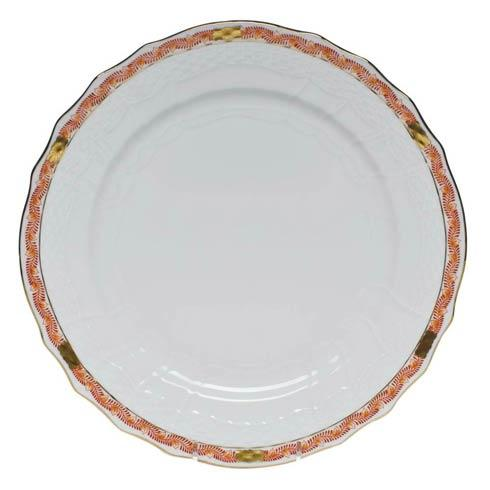 Herend Chinese Bouquet Garland Rust Service Plate $140.00