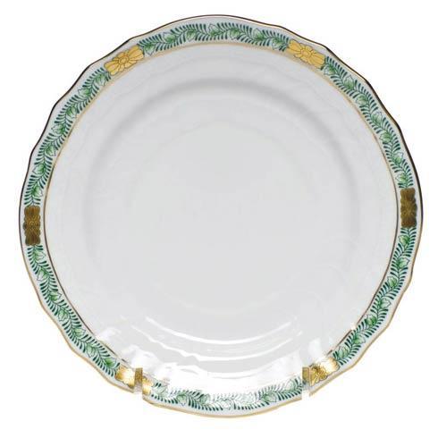 Herend  Chinese Bouquet Garland Green Bread & Butter Plate $75.00