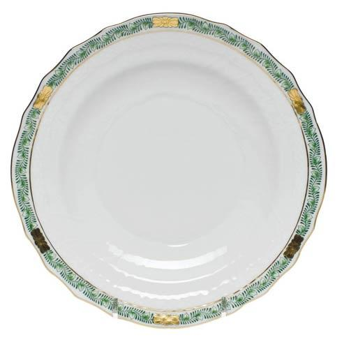 Herend Chinese Bouquet Garland Green Salad Plate $85.00