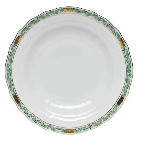 Herend Chinese Bouquet Garland Green Dessert Plate $95.00