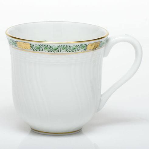Herend  Chinese Bouquet Garland Green Mug $125.00