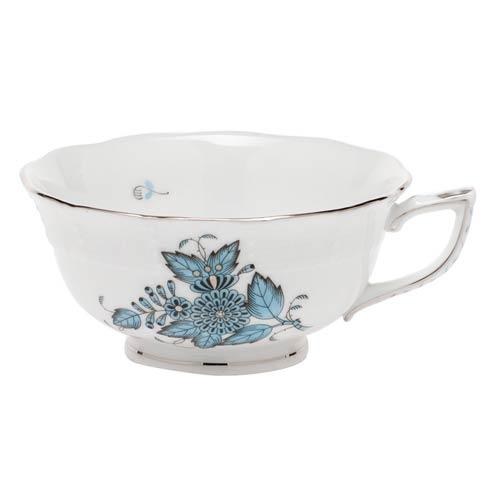 Herend Collections Chinese Bouquet Turquoise & Plantinum Cup $100.00