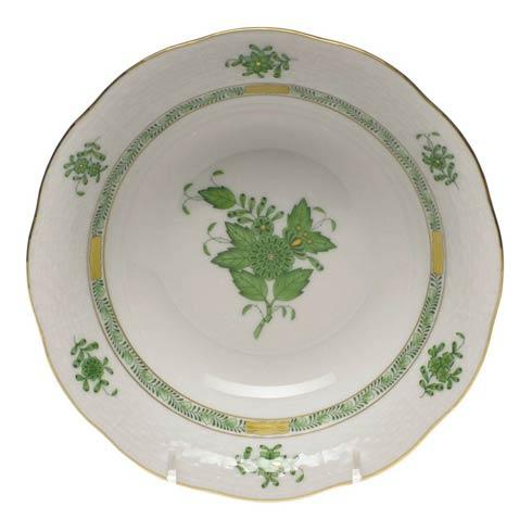 Herend Chinese Bouquet Green Oatmeal Bowl $125.00