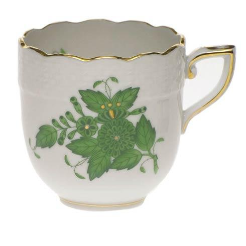 Herend Chinese Bouquet Green After Dinner Cup $80.00