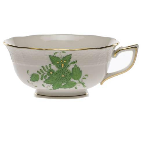 Herend Chinese Bouquet Green Tea Cup $100.00