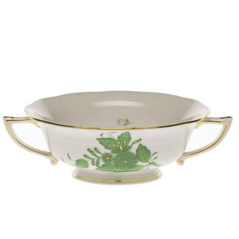 Herend Chinese Bouquet Green Cream Soup Cup $190.00