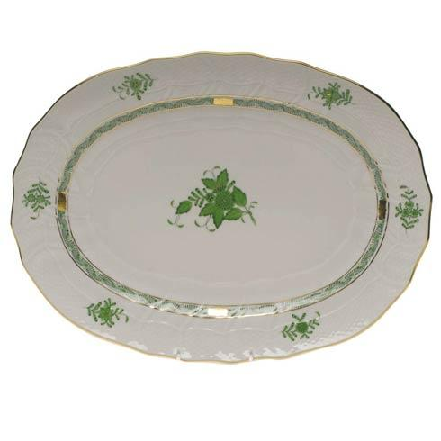 Herend Chinese Bouquet Green Platter $455.00