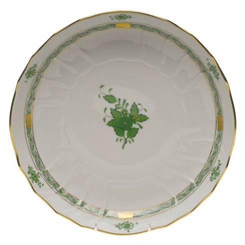 Herend Chinese Bouquet Green Open Veg Bowl $235.00