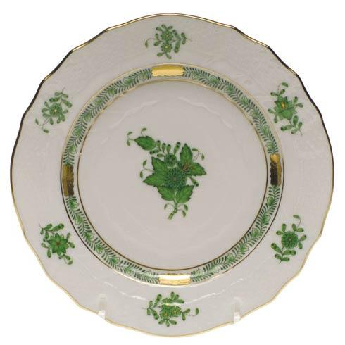 Herend Chinese Bouquet Green Bread & Butter Plate $80.00