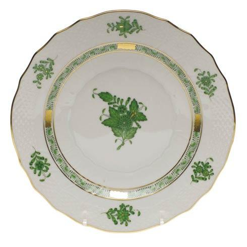 Herend Chinese Bouquet Green Salad Plate $100.00