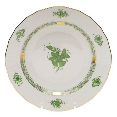 Herend Chinese Bouquet Green Dessert Plate $115.00