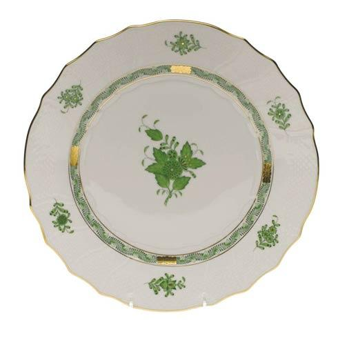 Herend  Chinese Bouquet Green Dinner Plate $145.00