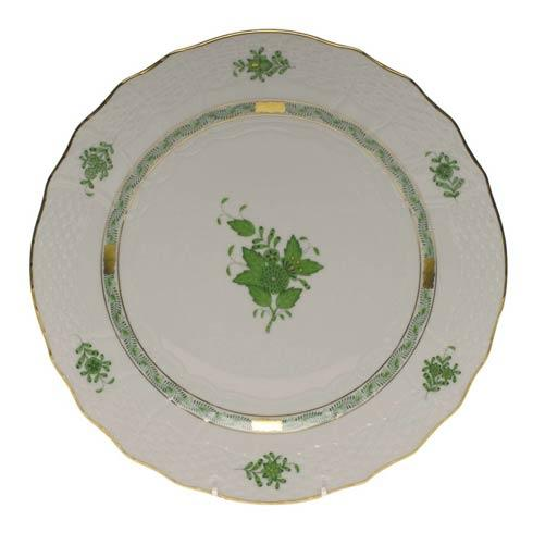 Herend Chinese Bouquet Green Service Plate $175.00