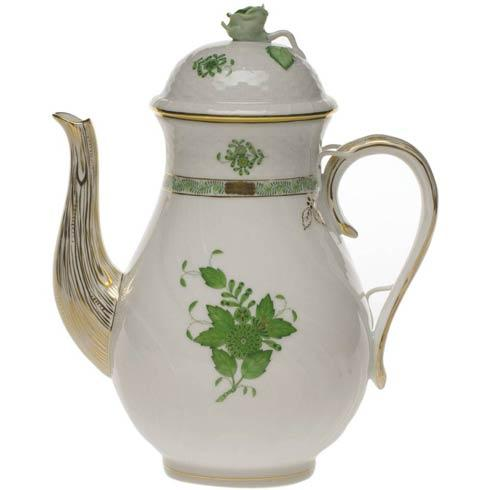 $480.00 Coffee Pot W/Rose