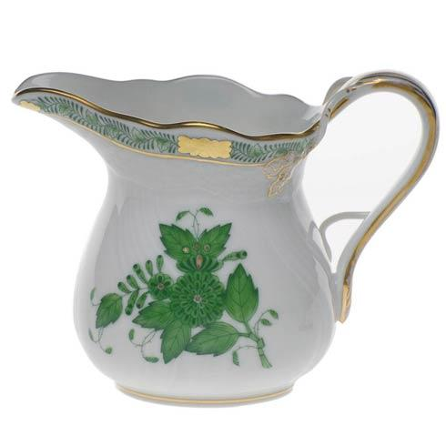 Herend  Chinese Bouquet Green Creamer $135.00