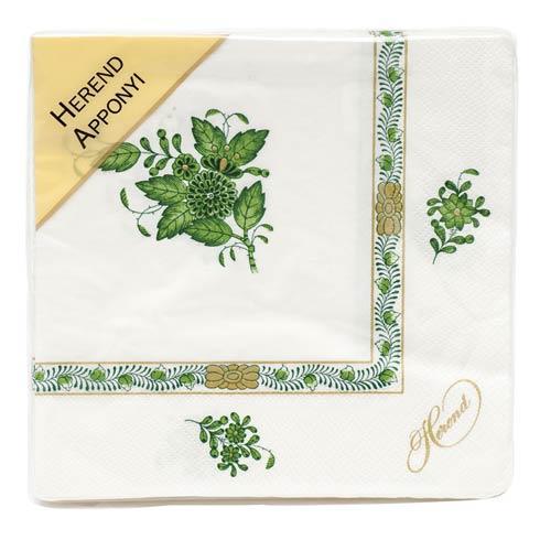 $12.00 Napkin -  Green