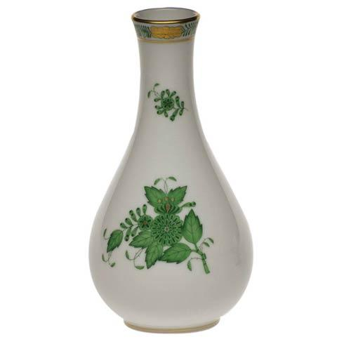 Herend Chinese Bouquet Green Vase $115.00