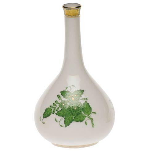 Herend Chinese Bouquet Green Bud Vase $80.00