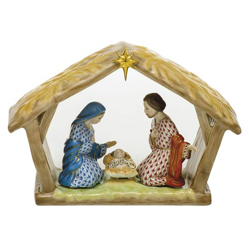 $2,275.00 Nativity Scene-Multicolor
