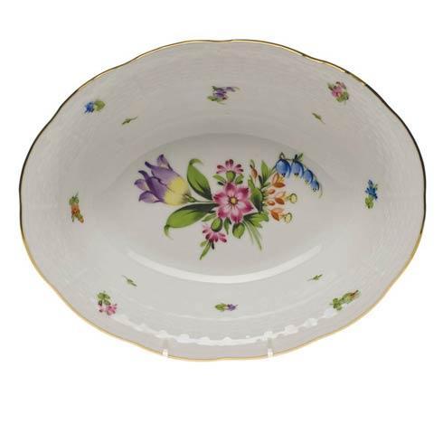 Herend  Printemps Oval Veg Dish $235.00