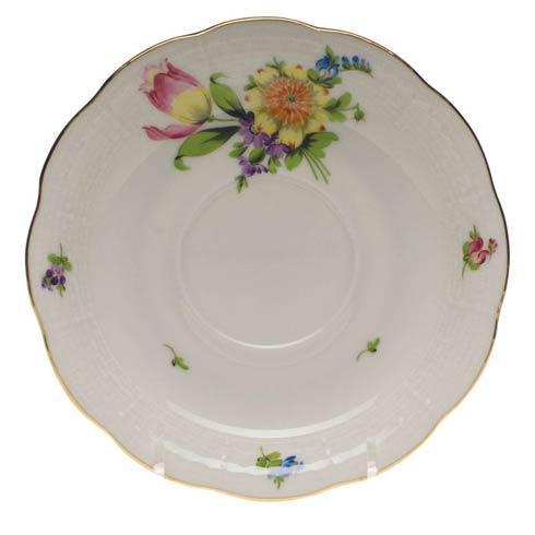 Herend Collections Printemps Tea Saucer - Motif 03 $60.00